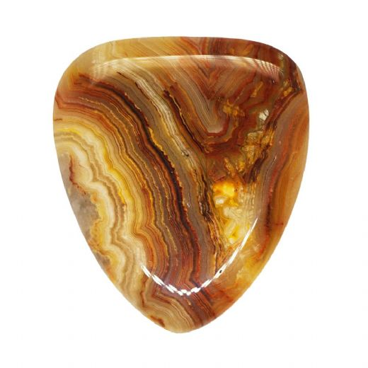 Agate Tones Crazy Lace Agate 1 Guitar Pick